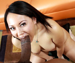 Sweet and horny asian getting big..