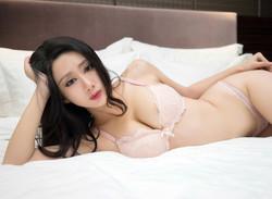The new JAV asian model in white..